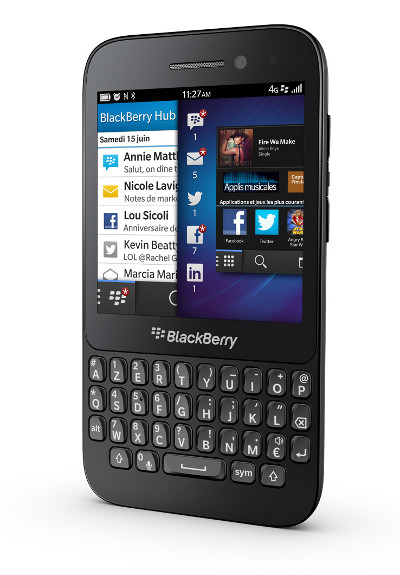 Wind Blackberry Q5