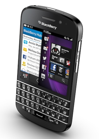 Videotron Blackberry Q10