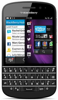 Telus BlackBerry Q10