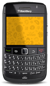 wind BlackBerry Bold 9780