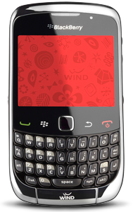 wind BlackBerry Curve 3G 9300